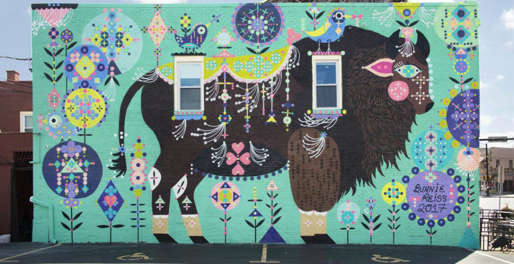 Magic Buffalo By Bunnie Reiss