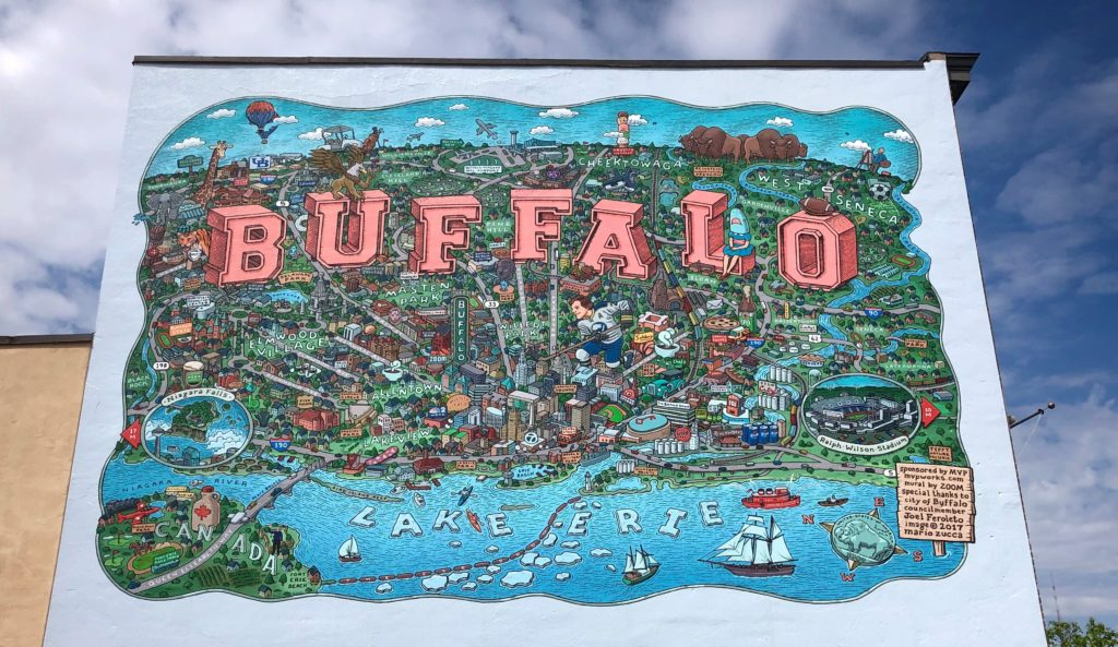 Map of Buffalo on MVP Network Consulting